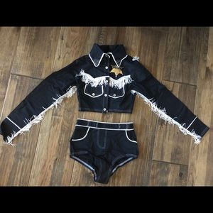 Other - Sheriff costume size 12, super cute! LIKE NEW!